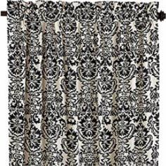 Damask Window Panel - traditional - curtains - Pier 1 Imports