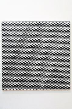 Bridget Riley - Tremor, 1961
