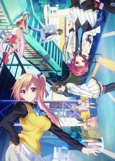 "無彩限のファントム・ワールド ""Musaigen no Phantom World"" by Kyoto Animation, 2016 Anime Meme, Anime Dvd, Manga Anime, Animes Online, Online Anime, Anime Kawaii, Musaigen No Phantom World, 2016 Anime, Japanese S"