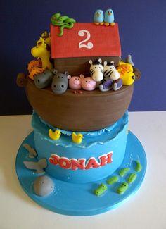 Jonah's Ark - Cake by CakeyCake