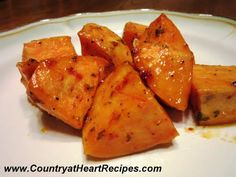 Country at Heart Recipes: Glazed Sweet Potatoes