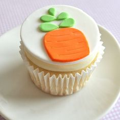 Carrot cupcake toppers - this seller is very talented, check out her other designs!