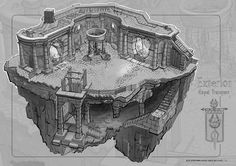 FZD students continue to strengthen their design and drawing skills via more old-school RPG room designs. This time they have to design a pe. Interior Design Games, Prop Design, Fantasy Map, Medieval Fantasy, High Fantasy, Environment Sketch, Rpg Map, Building Concept, Bd Comics