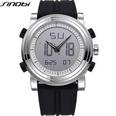 11.89$  Watch here - http://aliwce.shopchina.info/go.php?t=32785210000 - SINOBI Sports Chronograph Men Wrist Watches Digital and Quartz Boys Military Diving Watchband Top Luxury Brand Male Clock   #bestbuy