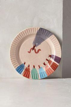 Gallus Dessert Plate - anthropologie.com