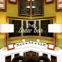 Introducing our new brow bar!