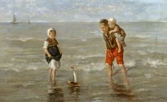 Jozef Israels - The Toy Boat