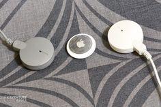 AirTag et microphones Apple PlainTalk (années 1990)