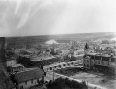 Aerial View of Brandon c 1925 -
