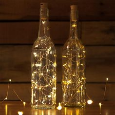 Get 10 Corks with attached LED Light Stings for the price of ONE with lots of colors and sizes to choose from! Now you can turn your empty bottles into a beautiful light source using this awesome Cork LED Light String that is great for yo Wine Bottle Fairy Lights, Wine Bottle Corks, Lighted Wine Bottles, Wine Bottle Crafts, Empty Bottles, Lights In Bottles, Wine Bottle Lighting, Decorate Wine Bottles, Led Bottle Light