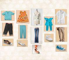 Spring family photo clothing ideas