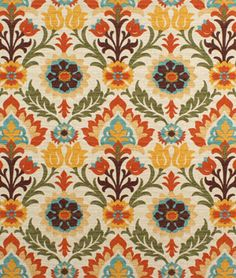 Waverly Santa Maria Adobe Fabric | onlinefabricstore.net