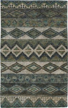 Save on Bengal Sea Green Rugs! Choose beautiful hand knotted, geometric Bengal Sea Green Rugs from Capel Rugs, America's Rug Company. Natural Area Rugs, Modern Area Rugs, Geometric Rug, Jute Rug, Southwestern Style, Hand Knotted Rugs, Green And Grey, Rug Size, Bohemian Rug