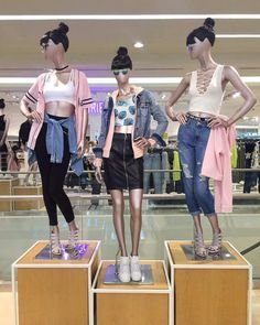 Forever 21 Edgy Girl Spring 2016 Mannequins