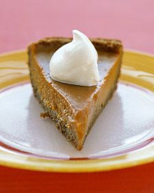 I think I found my sweet potato pie recipe for Thanksgiving. I trust Martha to give me something good.
