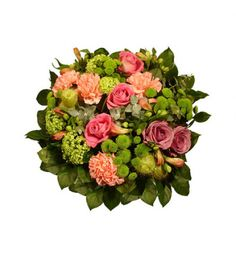 Mixed Flowers Arrangement Tenderness bunch of blooming