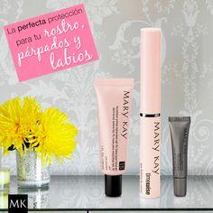 Protege tu rostro, labios y parpados. #lips #primer #makeup #marykay #marykaysv