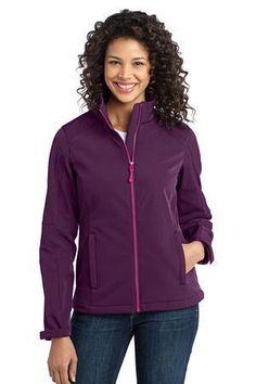 Port Authority Ladies Traverse Soft Shell Jacket L316  #softshelljacket #womensouterwear #portauthority