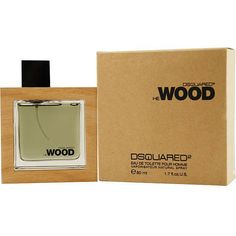 Fragrance was launched by the design house of Dsquared2He Wood men's cologne features notes of violet leaves, vegetal amber, violet blossoms, and moreScent is available in a 1.7-ounce eau de toilette spray