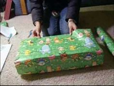 How to professionally wrap a present because all of my presents are wrapped like hot messes