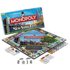 New York City Collector's Edition Monopoly Game