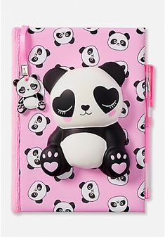 Justice is your one-stop-shop for on-trend styles in tween girls clothing & accessories. Shop our Panda Squish Journal. Tween Girl Gifts, Tween Girls, Toys For Girls, Justice School Supplies, Back To School Supplies, Panda Love, Cute Panda, Justice Toys, Shop Justice