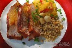 #OfficialPernilDay #Christmas Roast Pork w/orange chutney & macadamia (Pernil com chutney de laranja e macadâmia)