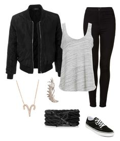 """Bad girl"" by stina999 on Polyvore featuring Vans, LE3NO, Topshop, Project Social T, Latelita and Wild Hearts"