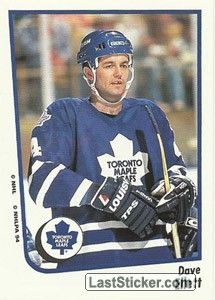 DAVE ELLETT 1994-95 TORONTO MAPLE LEAFS  Panini NHL Hockey 1994-1995 - Collection preview - laststicker.com Toronto Maple Leafs, Trading Cards, Nhl, Hockey, Sticker, Baseball Cards, Collection, Field Hockey, Decals