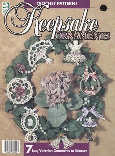 Christmas Ornaments Crochet Patterns - 7 Lacy Victorian Ornaments to Treasure