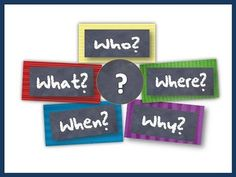 "This song helps students learn about the 5 ""Wh"" question words: Who, What, When, Where & Why. Song written and recorded by Amanda G. Ellis, MT-BC Find more s..."