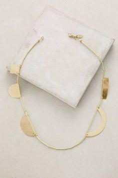 Cutouts Necklace by ACB by Annie Costello Brown