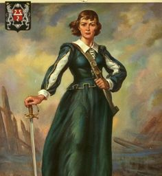 Françoise-Marie Jacquelin de La Tour (1602-1645), an Acadian heroine who took command of the garrison at present-day St. John, New Brunswick, in 1645 and defended the fort there for three days during a civil war in Acadia.