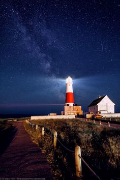 The Milky Way at Portland Bill Lighthouse, Portland, Dorset, Eng by Joe Daniel Price on 500px