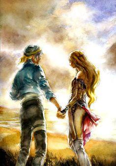 Celes Chere & Locke Cole - Final Fantasy VI
