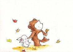 Carolyne Tillery | Autumnal Stroll (1158×835)