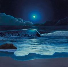 Sailing By The Moonlight by Paul Corfield