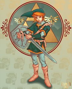 Zelda: Link by ~ElinHime
