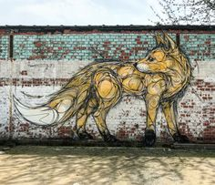 """Dzia, """"Fox"""" in Vilvoorde, Belgium, 2018"""