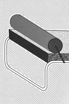 """aqqindex: """" Hans Hollein, Drawing Detail, Circa 1981 """""""