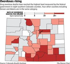 Colorado Health Institute study finds drug  deaths spiking in southeast    counties