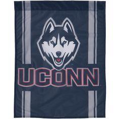 UConn Huskies - Husky Logo Vertical Flag