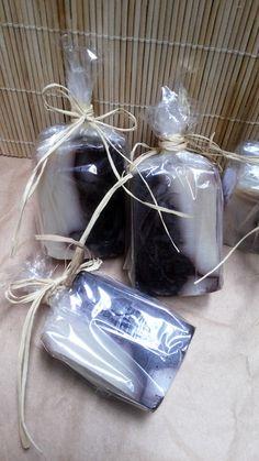Mini Sabonete Delícia Marmorizada - set com 2 unidades cada  Com aroma sofisticado de chocolate ao leite e chocolate branco.