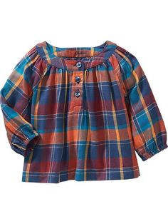 Plaid Tops for Baby Product Image