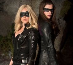 The black canary and the huntress