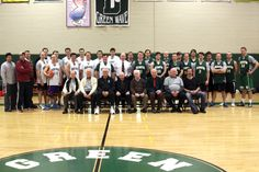 Hats off to former Wave players who competed in the Alumni Basketball game on 1/25/14!