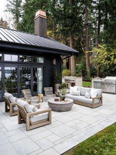 Casa Patio, Backyard Patio, Outside Living, Outdoor Living, Design Jardin, Outdoor Spaces, Outdoor Decor, Outdoor Furniture, Porch Furniture