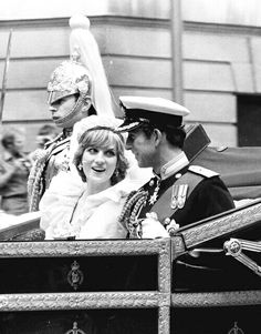Diana and Charles. Lovely. Camilla ruined what could have been a lasting marriage. Capitalising on Charles weaknesses.