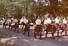 "Wheatland-Chili High School ""Scotsmen"" Pipe Band (1963: at that time was ""T. J. Connor Bagpipe Band)"