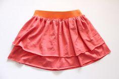 simple layered skirt tute